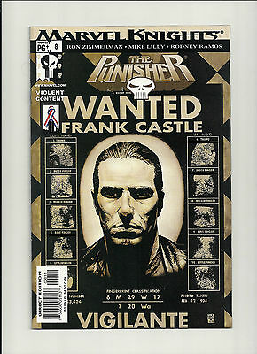 Punisher  #8 NM Vol 4