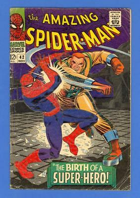 Amazing Spider-Man #42 – Marvel (1966) – 1St Full Mary Jane!
