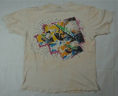 Rare Vintage OCEAN PACIFIC 1984 Spell Out Surfing Logo T Tee Shirt 80s 90s Large