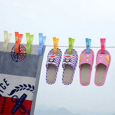 4Pcs Amazing Plastic Strong Beach Towel Clips Prevents Towels Blowing Away NEW