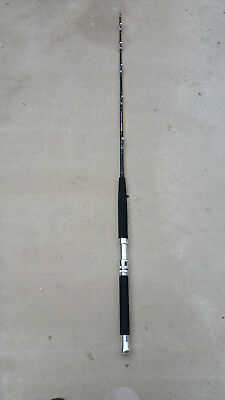 80-100lbs CUSTOM MADE SALTWATER FISHING RODS with AFTCO Roller Guides