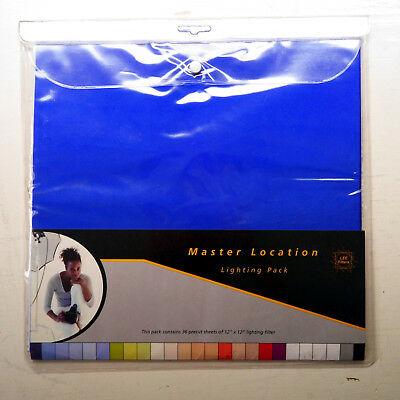 "LEE Filters Master Location Filter Pack - 36 Sheets (12"" x 12"")"