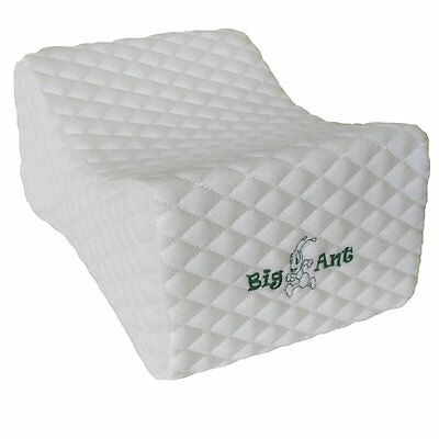 Big Ant Memory Foam Wedge Contour Orthopedic Leg Keen Pillow Removable Cover