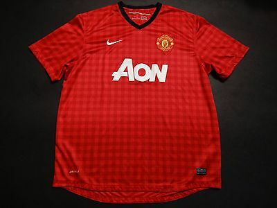 Manchester United home shirt 2012-2013 made by Nike XXL size Man Utd VGC+++