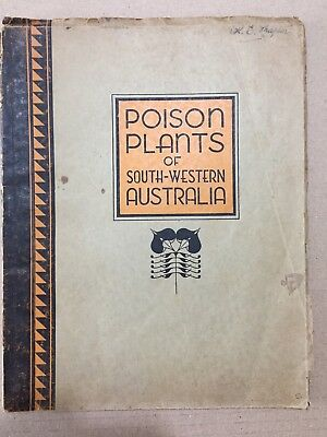 Poison Plants of South-Western Australia Book