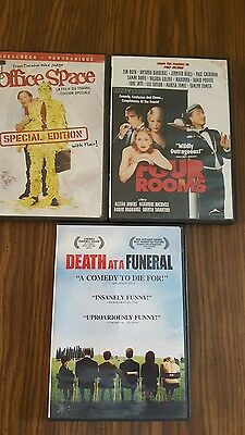 lot of 3 comedy dvds