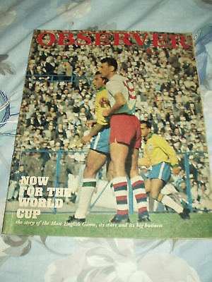 The Observer Magazine 15 May 1966 World Cup Football
