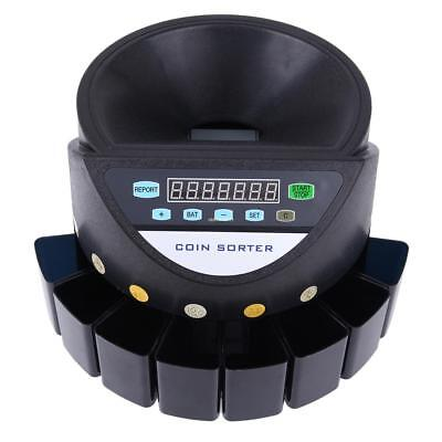 Coin Sorter Machine Led Display Digital Automatic Electronic Counter Machine