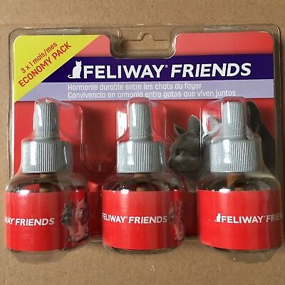 Lot De 3 Recharges Feliway Friends Pour Chat