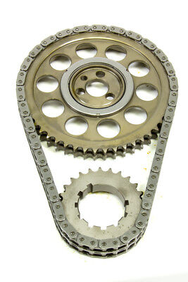 ROLLMASTER 0.005in Double Roller Gold Series BBC Timing Chain Set P/N CS2040-LB5