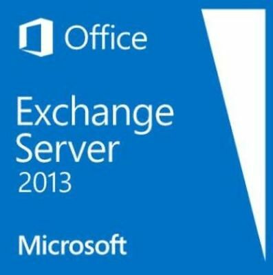 Exchange Server 2013 - Standard Edition 64 Bit w. 10 CAL License New and sealed.