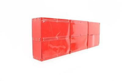 Rotes Softline Regal System von Otto Zapf 1971 Shelf Plastic InDesign 70er