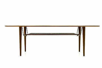 Beautiful Coffee Tabe by Peter Hvidt France & Son 1950s Tisch Teak Design 50s