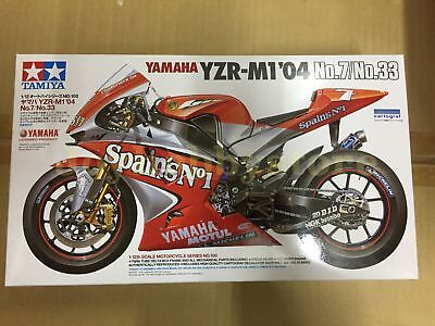 Tamiya 14100 1/12 Yamaha YZR-M1'04 No.7/No.33 Model Kit
