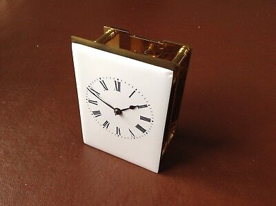 Superb Antique French Carriage Clock Movement By Richard Et Cue
