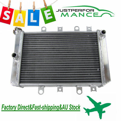 3 Row Aluminum Radiator For 2012-2014 Yamaha Grizzly 550 700 2012 2013 14