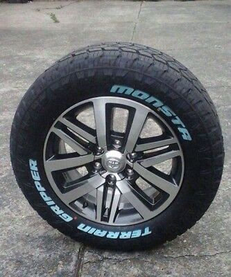 Toyota Hilux Sr5 Wheels And Mudterrain /or All Terrain Monsta Tyres , Brand New