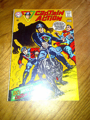 Captain Action #1. F/VF