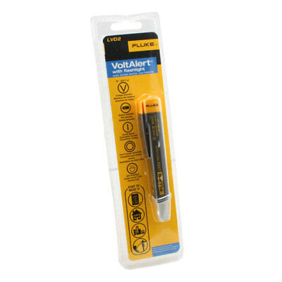 FLUKE VoltAlert Voltage Volt Stick Detector Pen With led Flashlight LVD2 600V AC