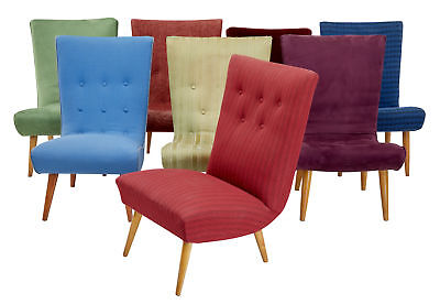Collection Of 8 Scandinavian Modern Lounge Chairs