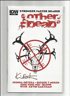 Other Dead #1 (2013 IDW) Animal Zombie Apocolypse Signed by Kevin Eastman NM
