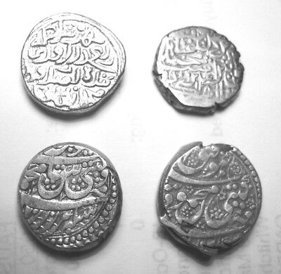 INDIAN & ISLAMIC. 4 SILVER RUPEES. Ref. 1083.
