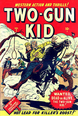 Two-Gun Kid #1-136 On Dvd. Full Run. 1948-1977. Vintage Us Western Comics.