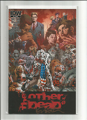 Other Dead #2 (2013 IDW) Animal Zombie Apocolypse Signed by Kevin Eastman NM