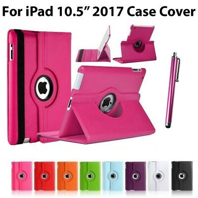 """360 Rotating Smart Stand Flip Folio Case Cover Fit For Apple iPad 2017 Pro 10.5"""""""