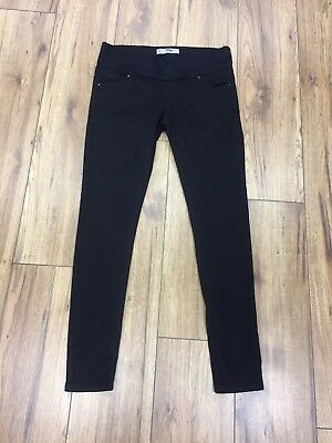 Topshop Leigh Under Bump Maternity Jeans 10 L32