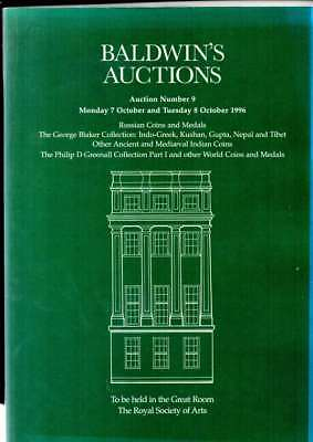 Baldwins Auction Catalogue Russian Coins The George Baker Collection Etc Oct 96