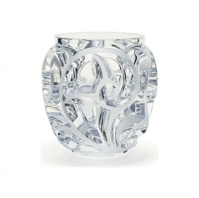 GENUINE LALIQUE Clear Crystal Tourbillions Vase 10549900 FREE DELIVERY