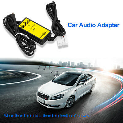 Car USB Aux-In Adapter Input MP3 Player Radio Interface Honda 2.4 Cable+Reader