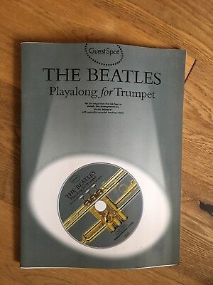 The Beatles Playalong for Trumpet with CD
