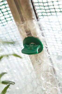 SupaGarden Super Alliplugs Pack 50 SGS295 Holds Bubblewrap to Greenhouses