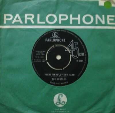 Beatles, I Want To Hold Your Hand / This Boy, Parlophone, 7Inch 45Rpm