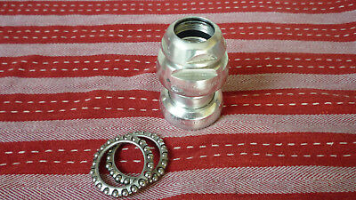 "VINTAGE CAMPAGNOLO CHORUS 1"" THREADED HEADSET , BC 1 x 24TPI 1990S"