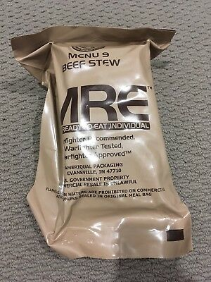 Mre ration pack survival food as pictured bx