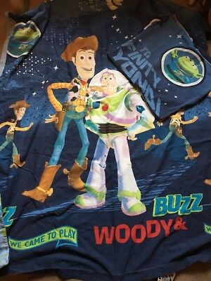 Children's Bedding - Disney Toy Story Reversible Single Bedding Set