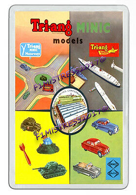Tri-Ang Minic Models Motorways Railways Ships Jumbo  Fridge / Locker Magnet (3)