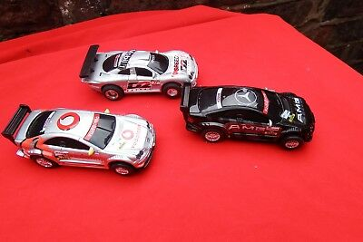 3 Scalextric slot  Cars