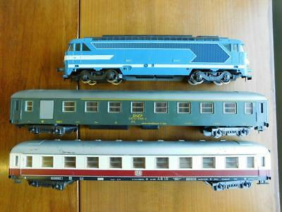LIMA Electric Trains Italy O Gauge Loco & Rolling Stock Track Tunnel & Station