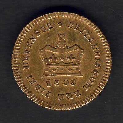 Great Britain. 1803 George 111 - Third Guinea.. Trace Lustre..  gVF
