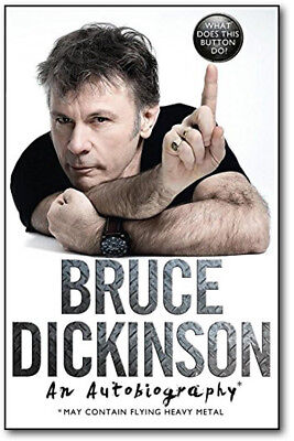 What Does This Button Do? - Bruce Dickinson (Hardcover) *BRAND NEW*