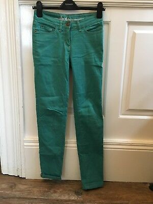 Boden - Size 6/8 - Jeans- barely worn- teal green