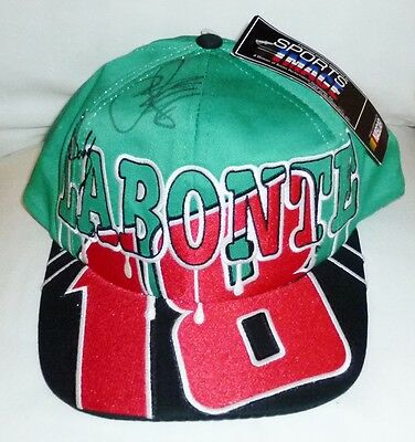 New Bobby Labonte Interstate Batteries Nascar Autographed Snapback Hat By Chase