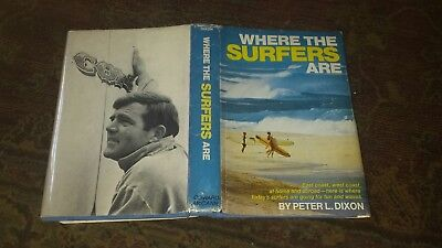 Surfing Where The Surfers Are 1968 1St  Edition Very  Rare Superb Condition