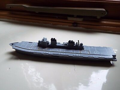 "TRI-ANG toy Aircraft carrier, cast metal 7"" length"