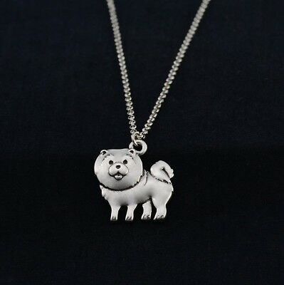 Cartoon Chow Chow Pendant Necklace ANIMAL RESCUE DONATION
