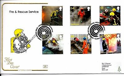 2009 Cotswold Cover Fire & Rescue Better  Hand Stamp Priced To Sell Very Fine